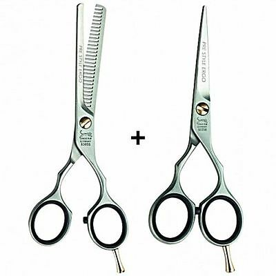 Jaguar Prestyle Ergo Scissors And Thinners Set With Free Jaguar Comb