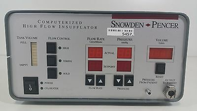 Snowden Pencer Computerized High Flow Insufflator 89-8600 With Hose and Yoke
