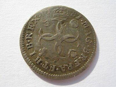 1681 Maundy Fourpence F rev dig