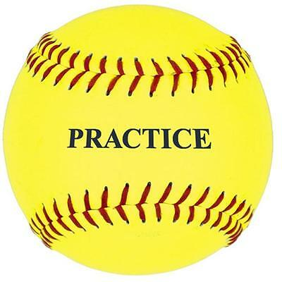 SSG / BSN 5PSBY11 11 Inch Yellow Practice Softball