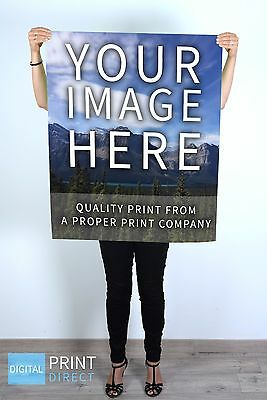Personalised Custom A2 Poster (Your Own Photo or Your Own Design or Image)