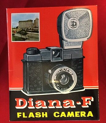 Vintage DIANA F NOS 120 Film Camera Lomography In Box Complete