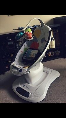 4Moms Mamaroo Multi Plush Baby Bouncer
