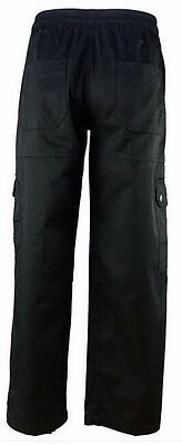 NWT Chef Revival Cargo Pants Black Size S Small Style Designed by Chefs for Chef