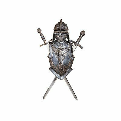 New Design Toscano Nunsmere Hall 16Th Century Battle Armor Collection - Cl3480