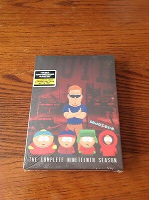 South Park: The Complete Nineteenth Season 19 (DVD, 2016, 2-Disc Set) *NEW*