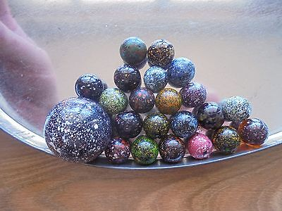 USED lot of 20 marbles!_WOAH!!!!!!!!_ships from AUS!_xx79_A4a129