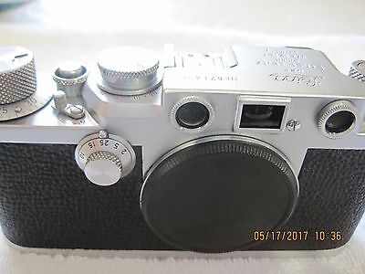 Leica IIIf red dial (1953) - 35mm RF, mechanically perfect, good cosmetics