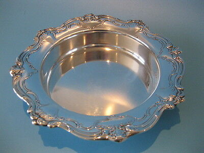 Beautiful Gorham High Quality Silver Plate Chantilly Pattern Wine Bottle Coaster