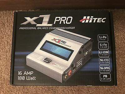 Brand New in Box Hitec X1 Pro Professional Balance Charger/Discharger #44215 !!!