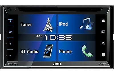 """Jvc Kw-V330Bt Car 6.8"""" Touchscreen Dvd Bluetooth Stereo Iphone Android Control"""