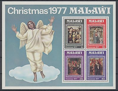XG-AD485 MALAWI - Paintings, 1977 Christmas, Virgin And Child MNH Sheet