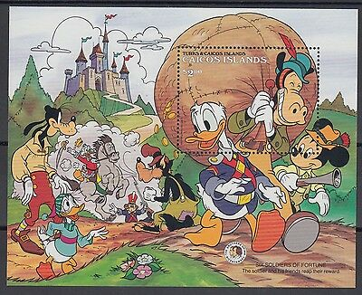 XG-AC715 CAICOS IND - Disney, 1985 Brothers Grimm MNH Sheet