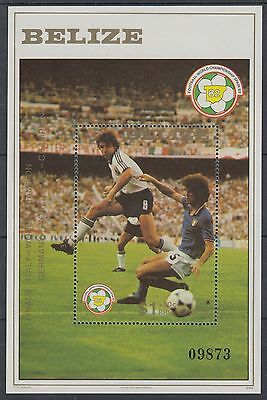 XG-AD878 BELIZE - Football, 1982 Spain World Cup, Italy Champions MNH Sheet