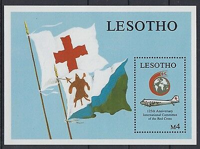 XG-AD434 LESOTHO - Aviation, 1989 Icao, Civil Organizazion MNH Sheet