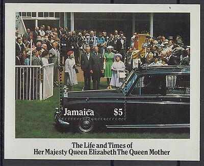 XG-AC944 JAMAICA IND - Royalty, 1985 Queen Mother 85Th Birthday MNH Sheet