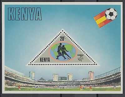 XG-AC963 KENYA - Football, 1982 Spain World Cup MNH Sheet