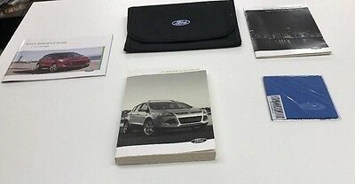 Ford Escape 2015 Owners Manual Books In Case /Complete / Oem/ Free Shipping/