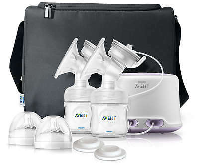 Philips AVENT Comfort Double Electric Breast Pump, New Born Baby Essentials