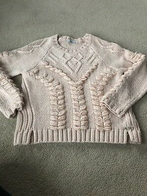 Girls Pink Mayoral Knit Jumper Age 10 Years. Spanish