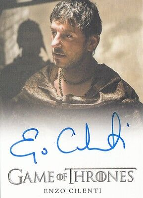 Game Of Thrones Season 6 - Enzo Cilenti (Yezzan Zo Qaggaz) Autograph Fb Limited