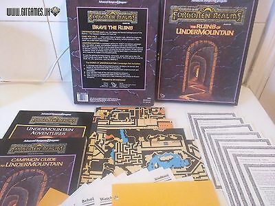 D&D The Ruins of the Undermountain Dungeons Dragons Forgotten Realms TSR 1060