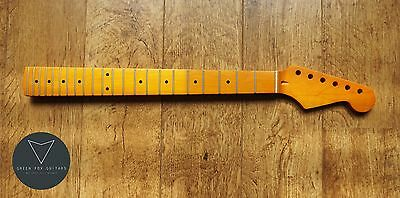 Strat Stratocaster Maple Electric Guitar Neck Vintage Satin Matt 22 Fret