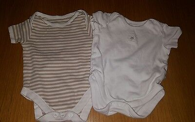 Baby boys 3-6 months vests (A282)