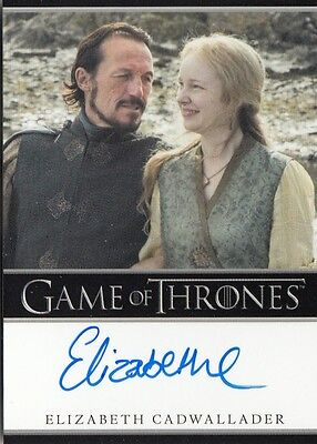 Game Of Thrones Season 6 - Elizabeth Cadwallader (Lollys) Autograph Card (B) L