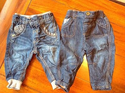Baby Boy 3-6 Months Jeans From George (A123)