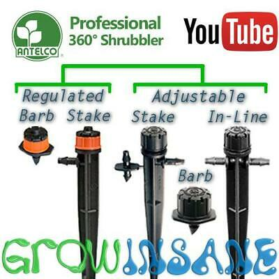 Antelco 360 Shrubbler-Garden Micro Irrigation Sprinklers & Sprayers-Multi Item