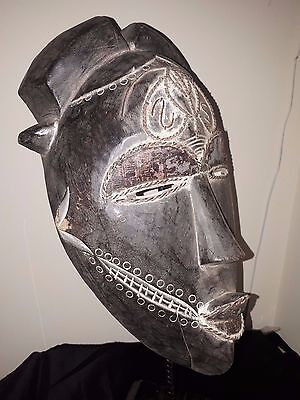Rare African Tika Mask Africa fes-0814