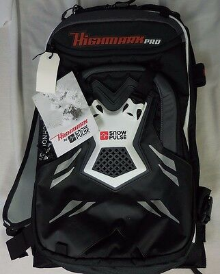 Snowpulse Highmark Pro 22L Avalanche Airbag System with Empty Cylinder