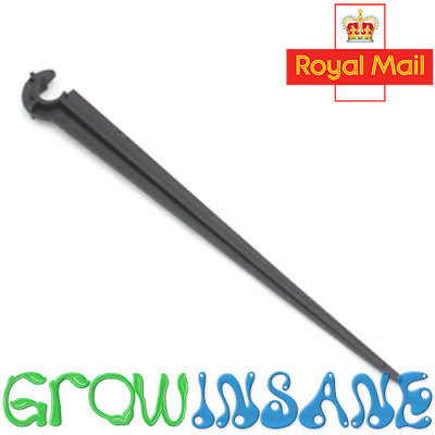 Micro Garden Irrigation Stake Hold Down Spike Support 4mm Tubing Pipe
