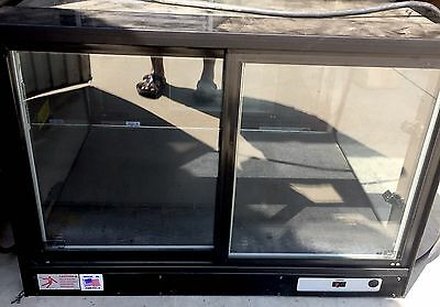 """Federal 36"""" Countertop Non-Refrigerated Bakery Display Case"""