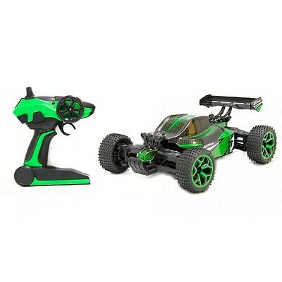Coche RC Buggy Verde Escala 1:18