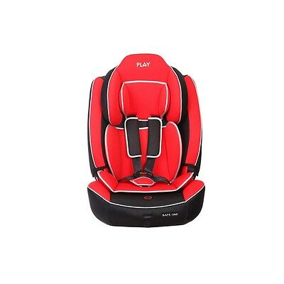 Silla de auto Safe One Grupo 1-2-3 Red - Colores - Negro y Rojo