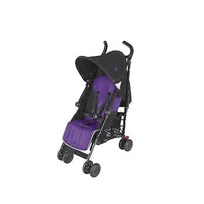 Silla Maclaren Quest +0m Black/Majestic - Colores - Lila