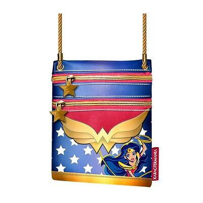 Dc Super Hero Girls Bolso Plano Wonder Woman