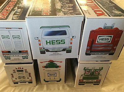 case of 6 hess trucks