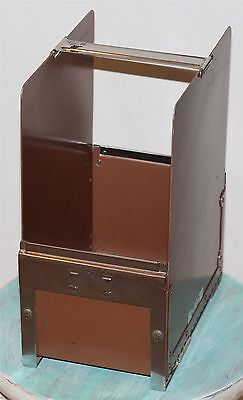 Narco-Matic Vintage Desk Organizer Expandable WW2 1940's Steel Case Rare File