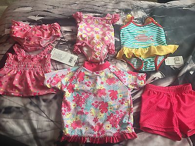 Baby Girl 0-6 month Swimming Wear All Brand New