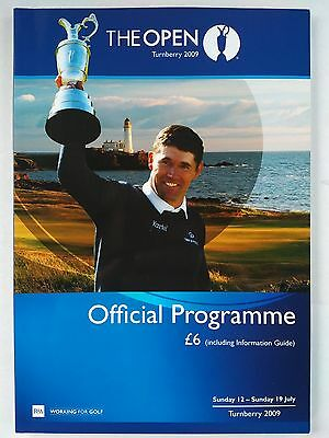The Open Championship 2009 Official programme at Turnberry Mint condition