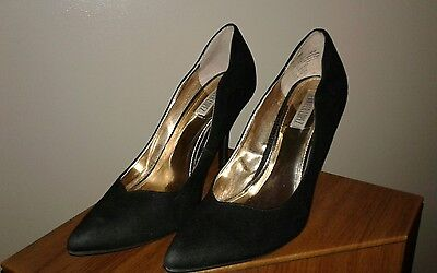 Women's JENNIFER LOPEZ FUEGO Black Fashion  Platform 9 1/2 Pumps Heels Dress