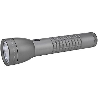 Maglite ML300LX-S2RJ6 2 Cell D LED Flashlight Blister Pack Irban Gray