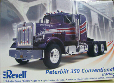 Revell 1:25 Scale Peterbilt 359 Conventional Tractor Model Kit NEW
