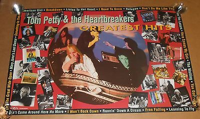 Tom Petty & The Heart Breakers Greatest Hits Poster Original 1993 Promo 24x36