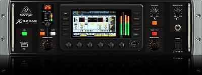 BEHRINGER X32 RACK 32-Channel 40-In Digital Mixer Audio Interface + 3yr Warranty
