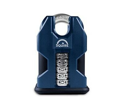 Squire SS50C COMBI 50mm high security 5 wheel combination padlock