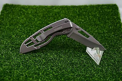 Gerber Ripstop Fine/Serrated Edge Stainless Steel Pocket Knife Pocket Clip